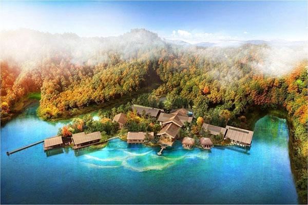 罗浮净土人文纪念园: 集旅游、禅修、陵园为一体的追思圣地