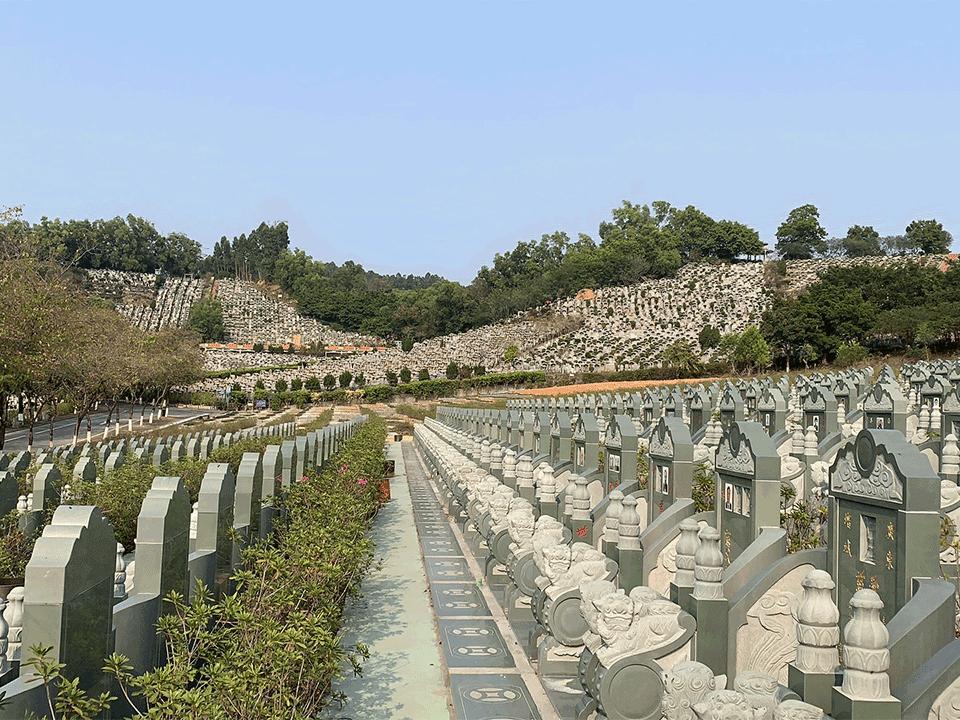 新塘公墓中华墓园-墓区景观