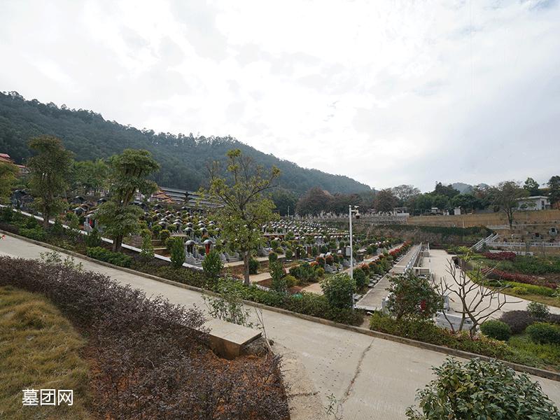 长青墓园 陵园环境