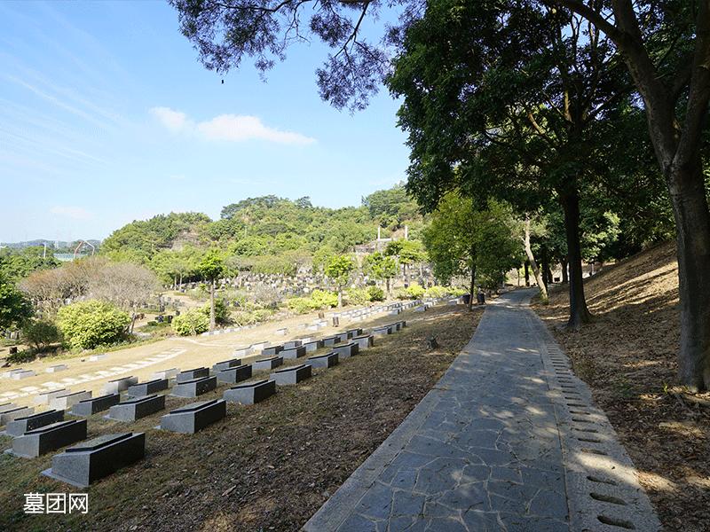 宝山园公墓-墓区景观